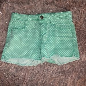 Star Mint green Cherokee Denim shorts